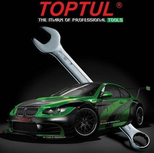 نمایندگی TOPTUL،آچار یک سر تخت یک سر رینگ تاپ تول ،ttfe.ir،09125000923