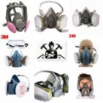 ماسک نیم صورت و تمام صورت دو فیلتر تری ام - 09125000923
