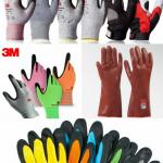 دستکش ایمنی کف مواد -دستکش ایمنی ضد برش -دستکش ضد اسید و غیره...- 09125000923