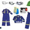 لباس کار -دستکش ایمنی - کلاه ایمنی - چکمه ایمنی -عینک ایمنی - گوشی صداگیر-09125000923